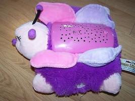 Pillow Pets Dream Lites Pink Butterfly Nightlight Starry Sky As Seen on ... - $22.00