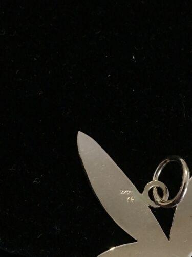 "Custom (ca. 1980) 14K Rose Gold Playboy Bunny Pendant (1 9/16"")"