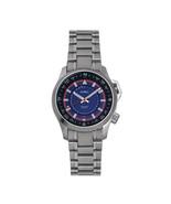 Axwell Vertigo Bracelet Watch w/Date - Blue - $510.00