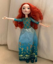 Disney Character Doll Curly Red Head 11 Inch Female Doll 2015 Hasbro Use... - $18.69