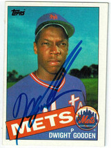 Dwight Gooden Signed New York Mets 1985 Topps Rookie Card #620 - SCHWARTZ - $58.41