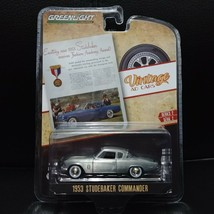1/64 Greenlight Raw Chase Car Vintage Ads Cars 1953 Studebaker Commander - $39.99