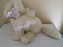 """NWT Ganz Heritage Collection Angel Cat Innocence White Long-Hair 16"""" - $29.70"""