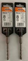 """Hawera B80040 1/4"""" X 2"""" X 4"""" SDS-plus Hammer Drill Bit  2pcs. - $2.97"""