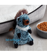 NEW Vibrant Life Cozy Buddy Racoon Dog Pet Toy Squeaky - $12.86