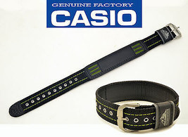 Genuine CASIO WATCH BAND STRAP PATHFINDER 23mm BLACK PAW-1500GB-3J PAW-1... - $34.61