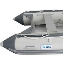 BRIS 10.8 ft Inflatable Boat Dinghy Pontoon Boat Tender Fishing Raft image 12