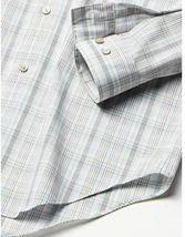 Calvin Klein Men's Dress Shirt Slim Fit Non Iron Stretch Beige Multi SEALED!!! image 3