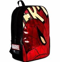 """Spiderman Backpack Padded Laptop / Tablet Sleeve Phone Pocket 17"""" Metall... - €14,65 EUR"""