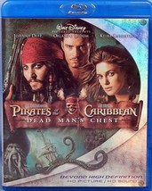 Pirates of the Caribbean: Dead Mans Chest / Johnny Deep BLU-RAY 2 DISC - $7.90