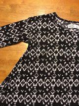 Abercrombie Kid's Girl's Black & White Long Sleeve Shirt - Blouse - Size: Small image 6