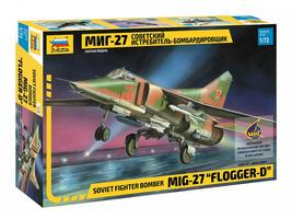 "Zvezda 7228 - Soviet fighter bomber MiG-27 ""Flogger-D"" Scale 1/72 - $99.00"