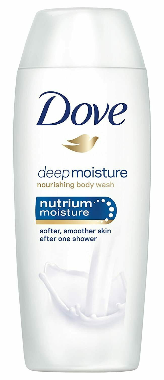 Primary image for Dove Deep Moisture Body Wash Travel Size 1.8 OZ. (Pack of 48)