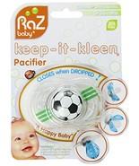 Razbaby Keep-It-Kleen Pacifier, Soccer Ball, 0-36 Months - $8.93