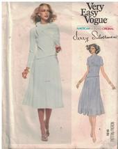 1816 Vogue Cucito Motivo Misses Abito Sciarpa Fitted Svasato Jerry Silve... - $29.57