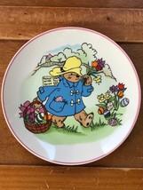 Vintage Schmid Signed 1980 A Year with Paddington Bear Small Porcelain E... - $8.59