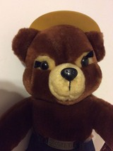 Vintage 1985 Dakin Smokey The Bear PLUSH Stuffed Animal TOY with hat - $24.20