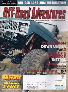 Primary image for Off-Road Adventures Magazine October 2006