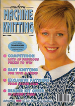 Modern Machine Knitting May 1994 Magazine Racing Cycling Sweater and more - $7.12