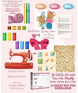 For ReSellers, Priority Box Full of Sewing, Quilt Fabrics n Some Crafts ... - $53.77