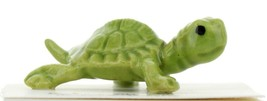 Hagen Renaker Miniature Turtle Green Mama Ceramic Figurine