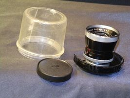 Carl Zeiss Pro-Tessar Lens f=35mm with fitted Zeiss Ikon Case AA-192034 Vintage image 8