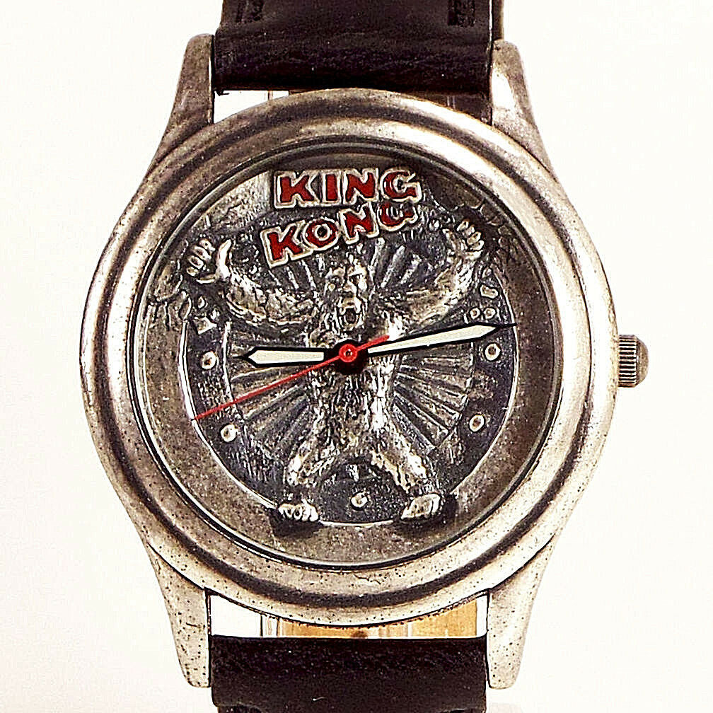 Primary image for King Kong Fossil 3D Look Dial Highly Collectible LTD Leather Watch XX/15000, $69