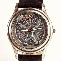 King Kong Fossil 3D Look Dial Highly Collectible LTD Leather Watch XX/15000, $69 - $68.16