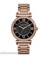 Michael Kors MK3356 Catlin Rose Gold-Tone Watch 38mm Watches - $107.90