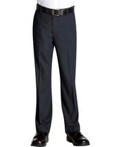 Kids Boys Junior Toddler Flat Front Slim Fit Dress Pants Slacks With Belt