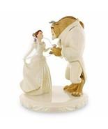 Lenox Disney Princess Belle's Wedding Dreams Cake Topper Beauty & The Be... - $800.00