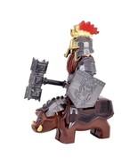 2pcs Dain Ironfoot on War Boar The Hobbit Battle of the Five Armies Mini... - $7.99