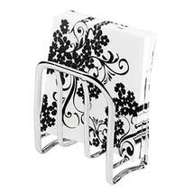 mDesign Modern Metal Steel Paper Napkin Holder for Kitchen Countertops, ... - $9.87