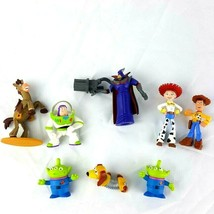 Disney Toy Story Figures Mixed Lot Buzz Woody Jessie Bullseye Zurg Alien... - $18.81