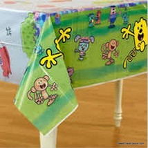 Wow Wow Wubbzy Party Banner Decoration Tablecover Birthday Tablecloth Supplies * - $9.75