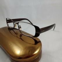 GUESS Rx Eyeglasses Frames Metal Plastic GU138 LAVA Full Rim Dark Brown Glittery - $22.50