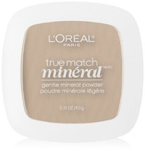 L'Oreal Paris True Match Mineral Pressed Powder, Soft Ivory, 0.31 Ounce - $12.08