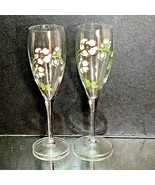 2 (Two) VTG PERRIER-JOUET Hand Painted Champagne Anemone Belle Epoque Fl... - $31.58