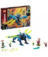 Brand New LEGO NINJAGO 71711 Jay's Cyber Dragon Ninja Building Set Free ... - $47.95