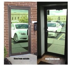 "Mirrored Green Privacy Window Film, 30"" x 100 ft - $378.99"