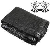 Greenhouse Covers Sunblock Shade Cloth Net Mesh Tarp 90% UV Resistant (6... - $20.00