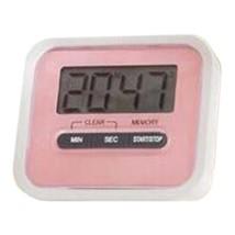 Digital Kitchen Timer Count Down Up Magnetic   pink - $11.39