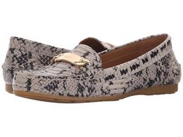 Coach Women's Premium Designer Odette Patent Loafer Shoes Moccasin Olive Snake