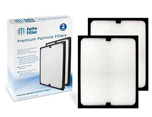 Fette Filter - True HEPA Filter Compatible with Blueair 200/300 Series Particle