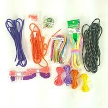 Assorted Crafts Parachute Parachord Rope Lot Rainbow Camo Purple Orange ... - $9.49