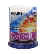 Philips DM4S6B00F/17 4.7GB 16x DVD-Rs (100-ct Cake Box Spindle) - $38.44