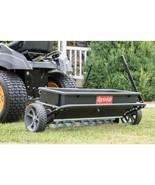 Drop Lawn Spreader 100 Lbs Capacity 32 inch Spiker Seeder Heavy Duty Fun... - $218.99