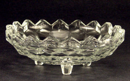 Indiana Whitehall Pattern Footed 6 1/4 Inch Candle Bowl - $11.65