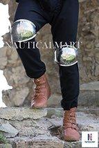 NAUTICALMART Medieval Steel Leg Armor Knee SCA Men's Armour - $66.64