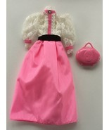 1982 Mattel Barbie Angel Face Dress, Makeup - $11.31